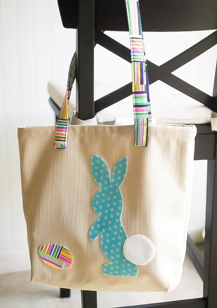 DIY easter bunny bag pattern