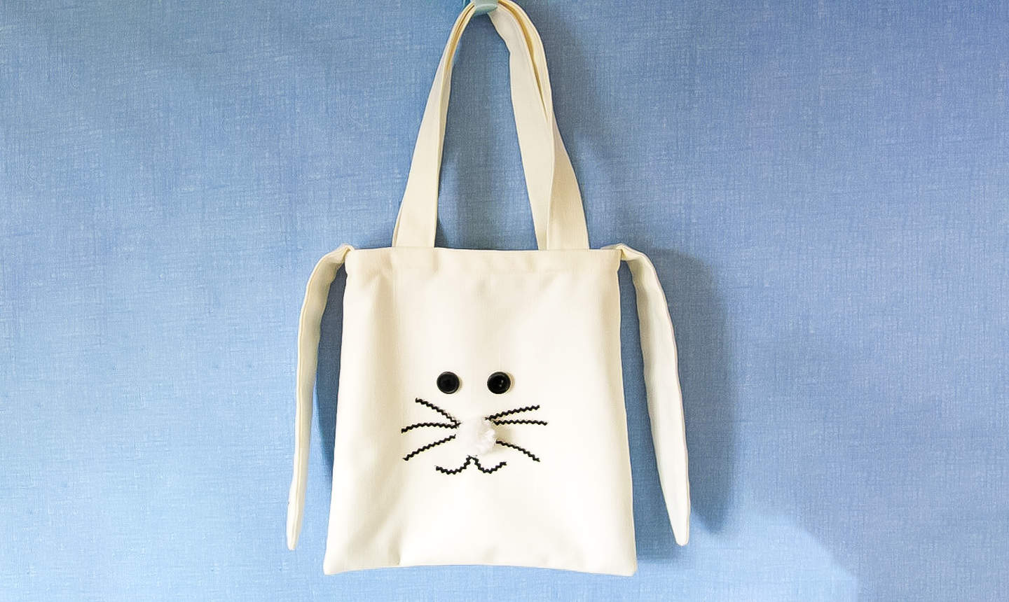 diy easter tote bag