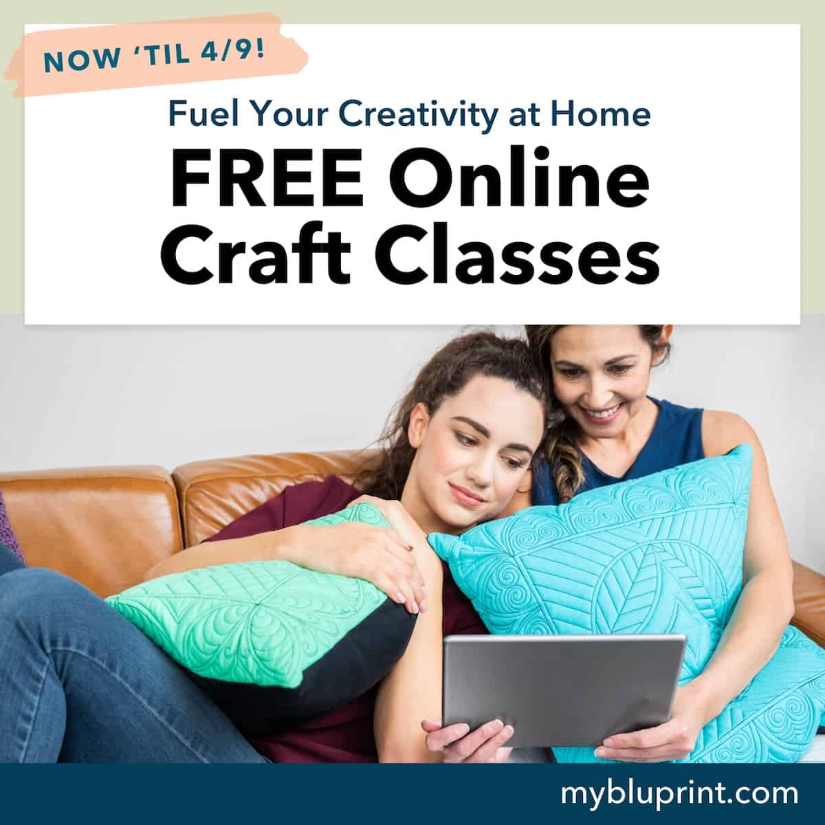 free online craft classes from bluprint