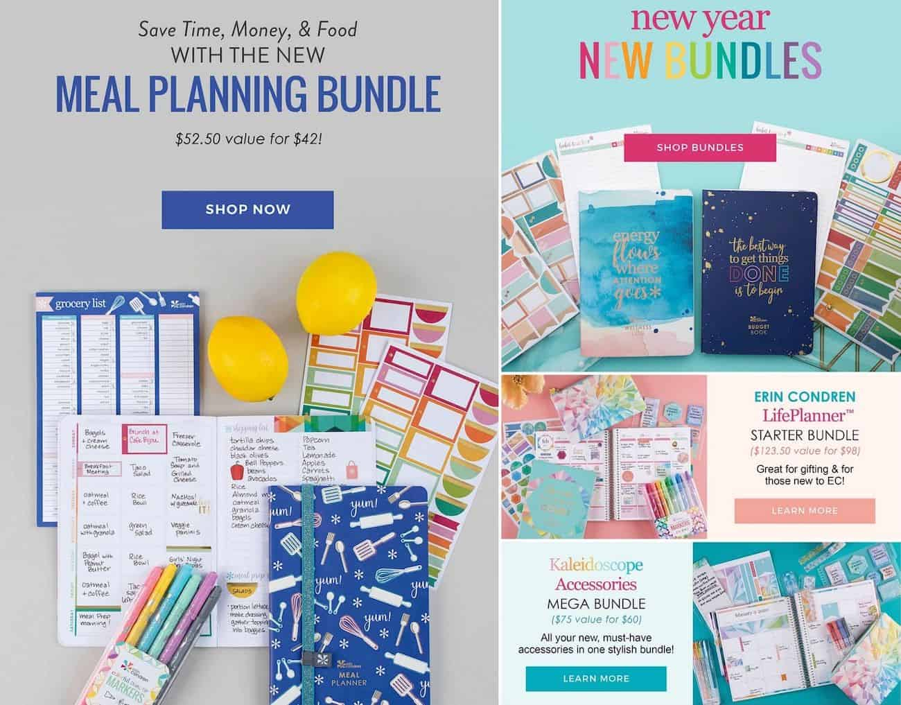 Erin condren bundle deals for Black Friday and Cyber Monday