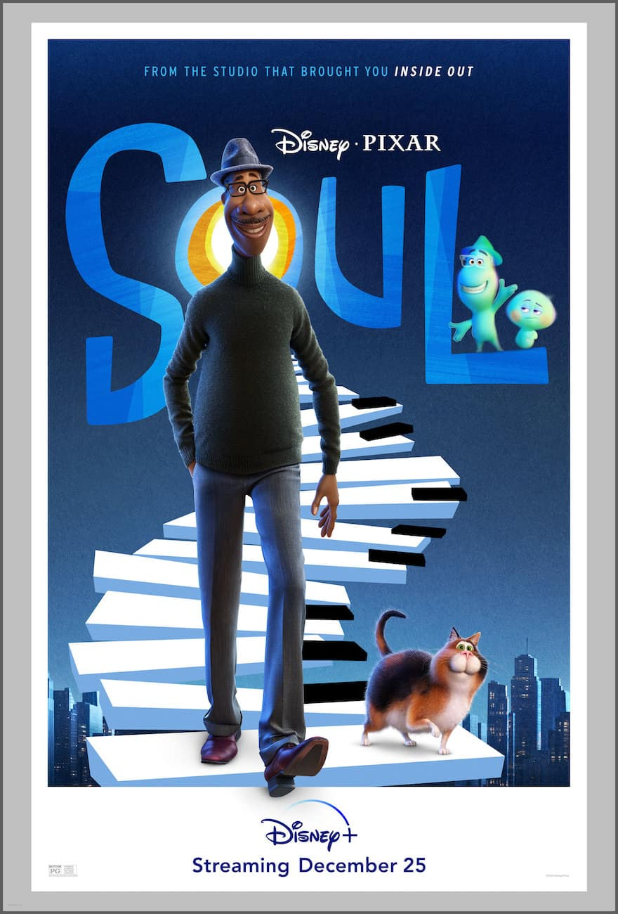 Disney Pixar Soul movie poster