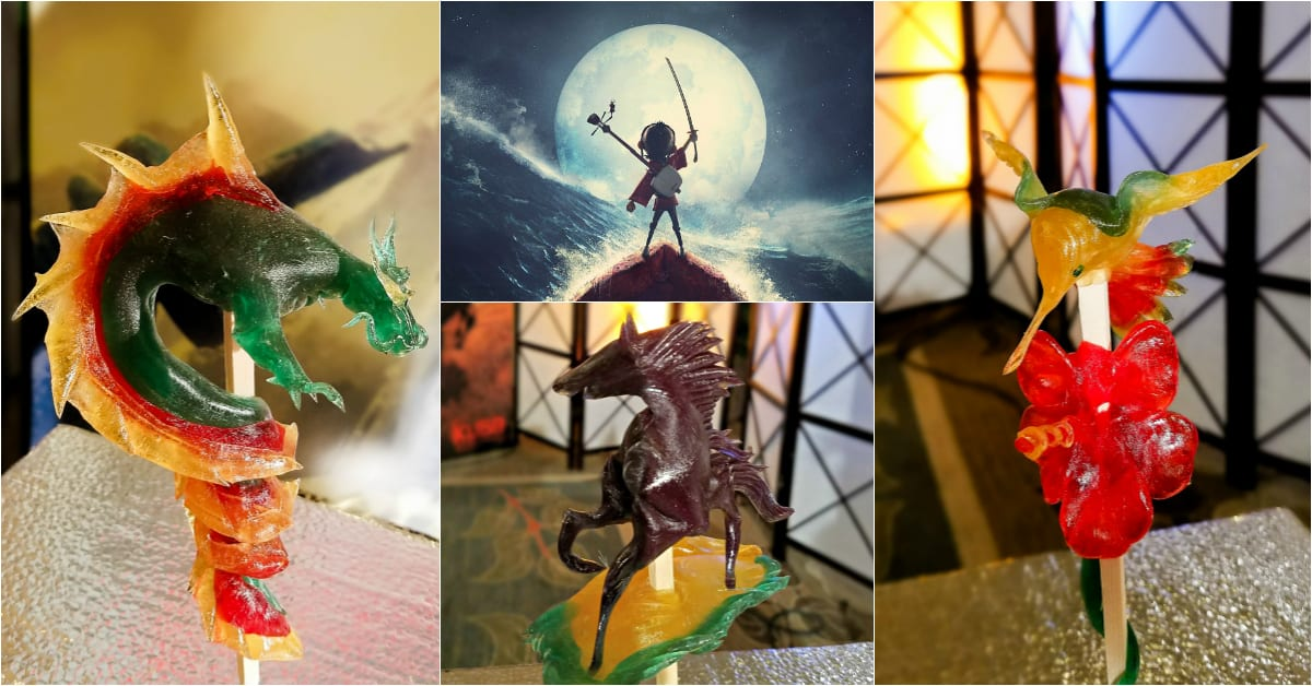 Amezaiku Candy Craft with Shinobu Ichiyanagi for kubo and the two strings