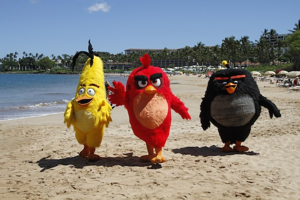 Angry Birds movie four seasons resort maui
