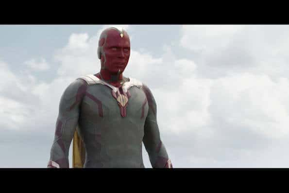 Captain America Civil War Paul Bettany Vision