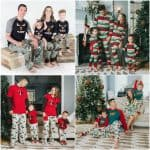 Christmas Family Pajamas for Holiday Photos and Christmas Morning!