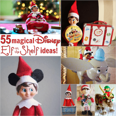 Disney Elf on the Shelf ideas