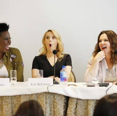 A Hilarious Interview with the Cast of Ghostbusters #Ghostbloggers #Ghostbusters