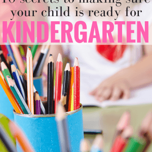 Help get your child ready for kindergarten