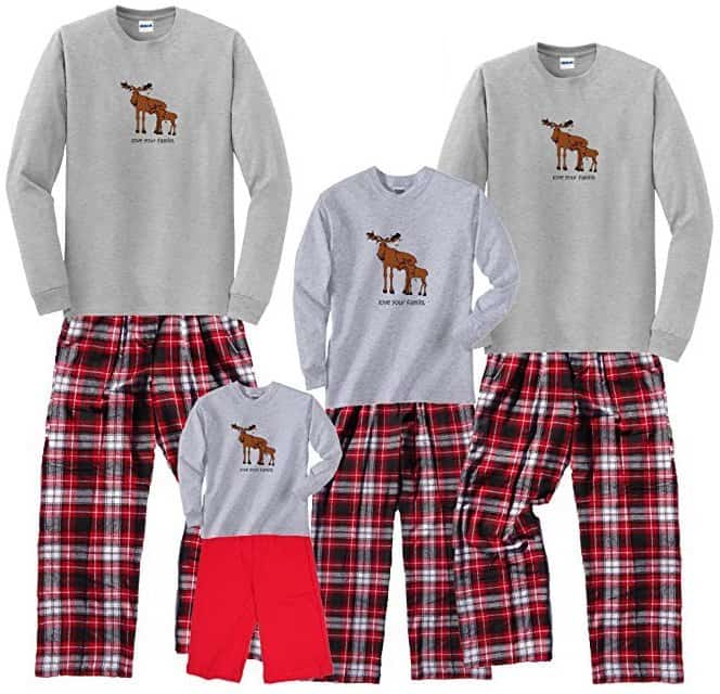 Kids Christmas Flannel Pajamas