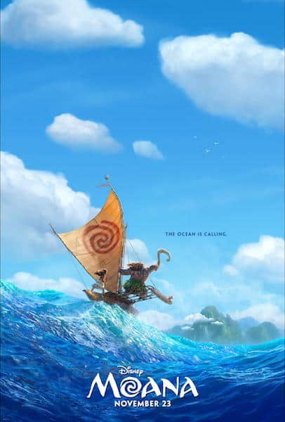 Disney moana movie poster