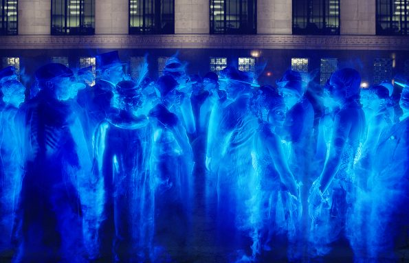 Ghosts in Columbia Pictures' GHOSTBUSTERS.