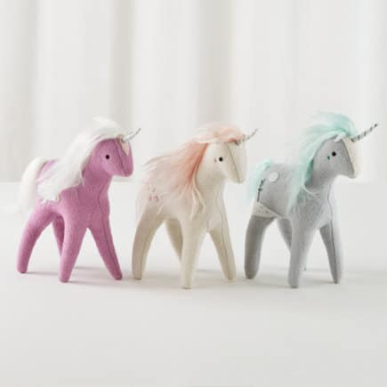 Mythical Plush Unicorns