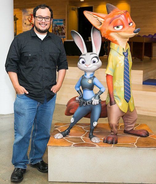 Raymond Persi flash zootopia disney press trip bloggers