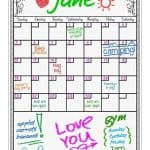 Save 49% on the Magnetic Dry Erase Calendar, Free Shipping Eligible!
