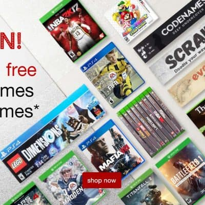 Target Online Deal: Buy 2 Get 1 Free on Video Games or Board Games + Free Shipping!