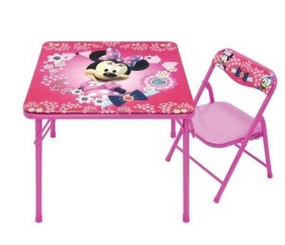 New Target Cartwheel Offer: 50% off Minnie Mouse Table & Chair Set! Today Only!
