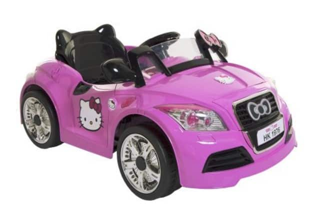 Save 50 On The Hello Kitty 6v Sports Car Battery Powered Ride On