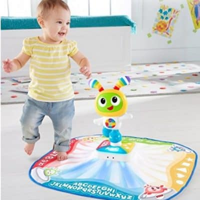 Save 45% on the Fisher-Price Bright Beats Build-a-Beat Dance Mat, Free Shipping Eligible!