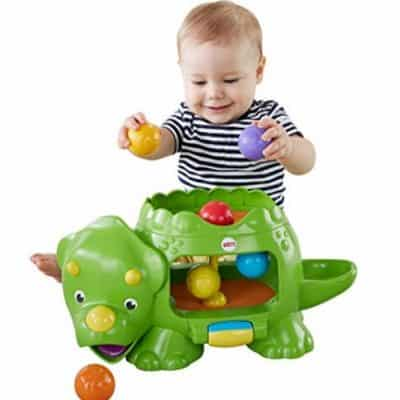 Save 52% on the Fisher-Price Double Poppin' Dino, Free Shipping Eligible!
