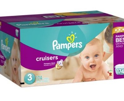 Amazon Diaper Coupon: Extra $3 off Pampers Diapers or Easy Ups Training Underwear, Free Shipping Eligible!