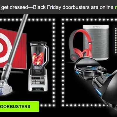Target Black Friday Doorbuster Deals Live: $249 XBOX ONE Bundle (with Free $40 Gift Card), and More! PLUS 5% off with RedCard + FREE Shipping!