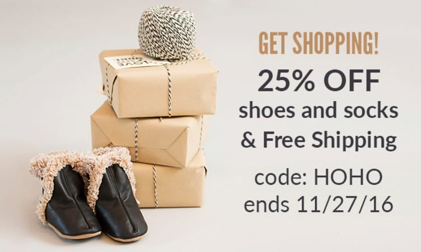 Robeez Black Friday Sale: Save 25% off + FREE Shipping ...