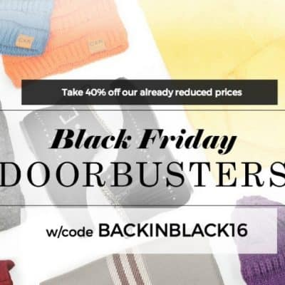 Cents of Style Black Friday Sale: Extra 40% Already Reduced Prices + Free Shipping!