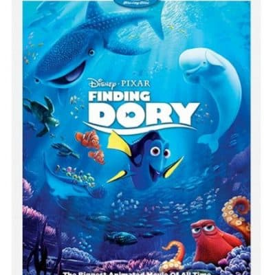 Target Online Deal: Finding Dory (Blu-ray + DVD + Digital HD) (3-disc) only $10