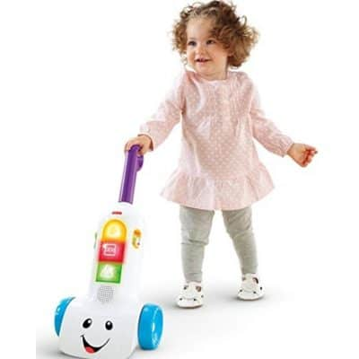 Save 40% on the Fisher-Price Laugh & Learn Smart Stages Vacuum, Free Shipping Eligible!