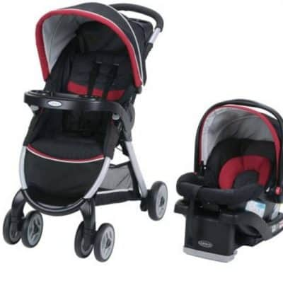 Save $200 off Graco FastAction Fold Click Connect Travel System, Free Shipping!