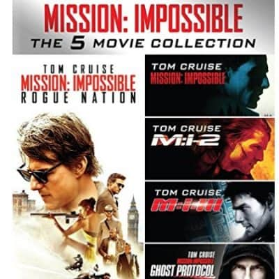 Save Up to 48% on the Mission: Impossible – The 5 Movie Collection [Blu-ray] Today Only, Free Shipping Eligible!