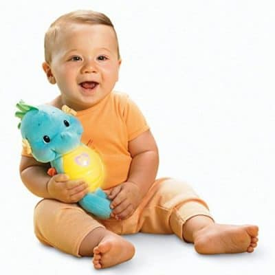 Save 40% on the Fisher-Price Soothe and Glow Seahorse, Free Shipping Eligible!