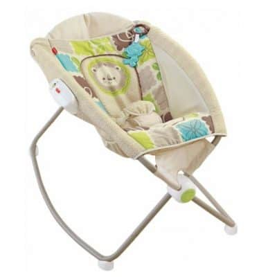 Save 46% on the Fisher-Price Rainforest Friends Newborn Rock 'n Play Sleeper, Free Shipping Eligible!