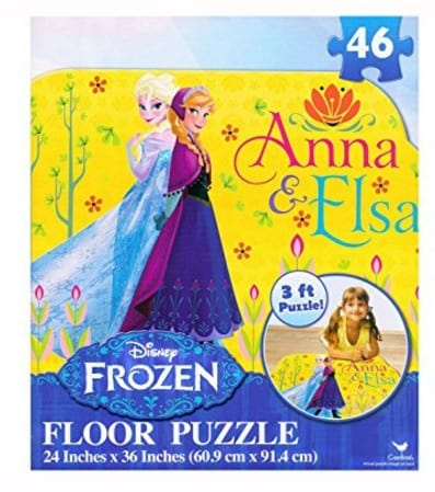 Save 68 On The Disney Frozen Floor Puzzle 46 Piece