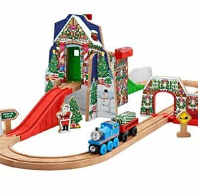 Save 56% on the Fisher-Price Thomas the Train Wooden Railway Santa's Workshop Express (Plus Other Toys Up to 50% off) Today Only, Free Shipping Eligible!