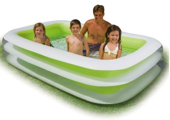 Save 28 on the intex swim center family inflatable pool Intex swim center family pool cover