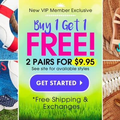 Buy One Get One FREE Kids Shoes from FabKids! FREE Shipping & Exchanges!