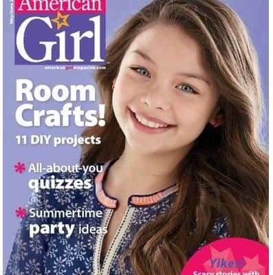 American Girl Magazine just $15.95/Year! Great Gift Idea!
