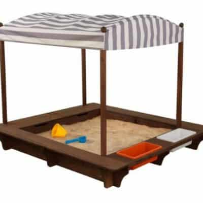 Save 30% on this Outdoor Sandbox with Canopy, Free Shipping Eligible!