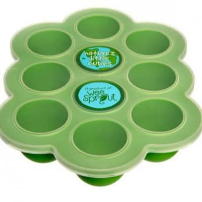 Save 23% on the Silicone Baby Food Freezer Tray with Clip-on Lid by WeeSprout, Free Shipping Eligible!