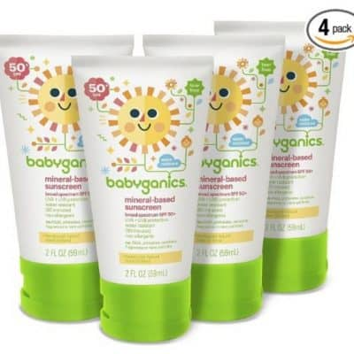 Babyganics Baby Sunscreen 4-Pack Only $10.61, Free Shipping Eligible!