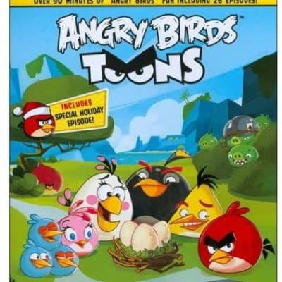 Buy One Blu-ray or DVD and Get One FREE! $4.99 Each + FREE In-Store Pickup! {Includes Angry Birds Toons!}