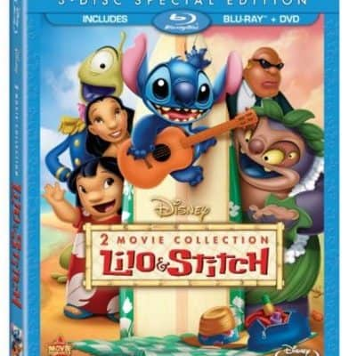 Save 50% on the Lilo & Stitch / Lilo & Stitch: Stitch Has A Glitch Two-Movie Collection (Three Disc Blu-ray / DVD Combo), Free Shipping Eligible!