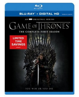 Save Up to 80% on the Game of Thrones on DVD or Blu-ray Today Only, Free Shipping Eligible!