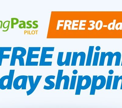 Get Free Unlimited 2-Day Shipping from Walmart.com with ShippingPass!