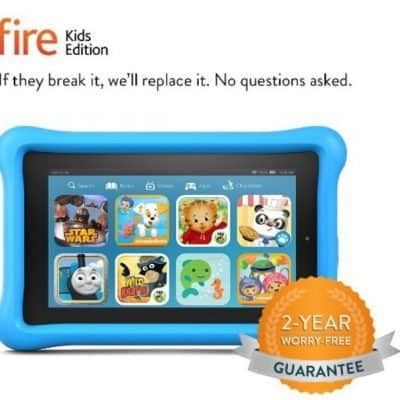 Save $20 on the Kindle Fire 7 Kids Edition Free Shipping Eligible! Includes 2-Year Worry-Free Guarantee!