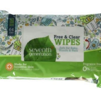 Save 50% on select Seventh Generation Wipes, Free Shipping Eligible!