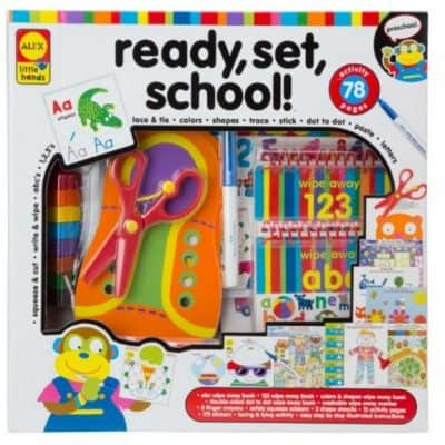 Save 55% on the ALEX Toys Little Hands Ready, Set, School!, Free Shipping Eligible!