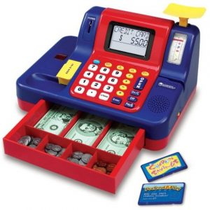 Save 44% on the Learning Resources Pretend & Play Teaching Cash Register, Free Shipping Eligible!
