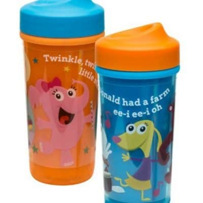 Zak! Designs Baby Genius Toddler Perfect Flo Sippy Cup only $3.92 Each, Free Shipping Eligible!